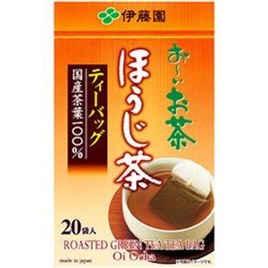 (まとめ)伊藤園 お〜いお茶 ティーバッグ ほうじ茶【×10セット】