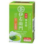 (まとめ)宇治の露製茶 伊右衛門 ティーバッグ 抹茶入り玄米茶【×10セット】