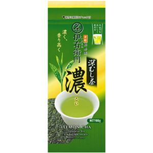 (まとめ)宇治の露製茶 伊右衛門  深むし茶 濃  1袋(100g)【×5セット】