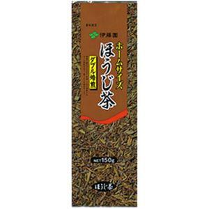 (まとめ)伊藤園 ホームサイズ ほうじ茶【×10セット】