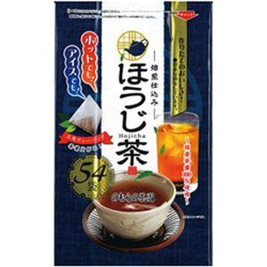 (まとめ)のむら茶園 ほうじ茶ティーバック 1パック(3g×54袋)【×10セット】