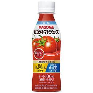 (まとめ)カゴメ トマトジュース 高リコピントマト使用 265g PET 1箱(24本)【×2セット】
