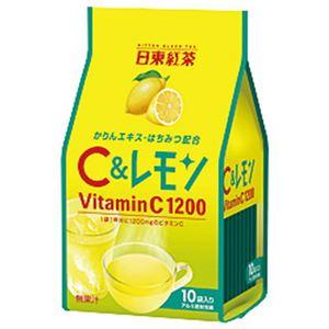 (まとめ)日東紅茶 C&レモン 1パック(9.8g×10袋)【×10セット】