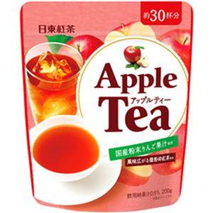 (まとめ)日東紅茶 インスタントティー  アップルティー  1袋(200g)【×10セット】