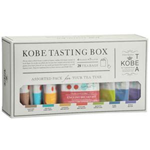 (まとめ)神戸紅茶 生紅茶 テイスティングBOX 1セット(4袋×7種)【×5セット】