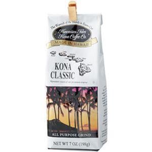 (まとめ)ハワイアン・アイルズ・コナ・コーヒー コナクラシック 198g 1袋【×5セット】