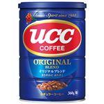 (まとめ)UCC オリジナルブレンド 缶 360g 1本【×5セット】