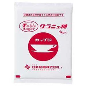 (まとめ)日新製糖 グラニュ糖 1袋(1kg)【×10セット】