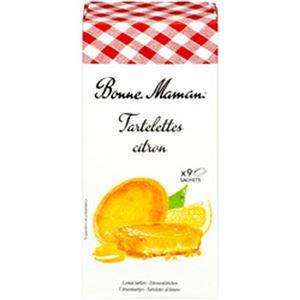 (まとめ)ボンヌママン レモンタルト 1箱(125g)【×10セット】
