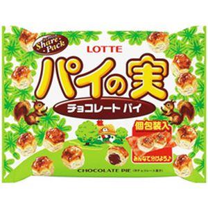 (まとめ)ロッテ パイの実 シェアパック 1袋(133g)【×10セット】