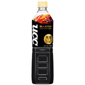 (まとめ)UCC 職人の珈琲 無糖 箱売   930ml 12本【×3セット】