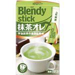(まとめ)AGF ブレンディスティック  抹茶オレ  1箱(7本)【×10セット】