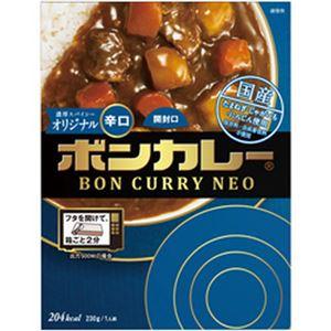 (まとめ)大塚食品  ボンカレーネオ濃厚スパイシーオリジナル辛口230g 1箱【×10セット】