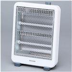 アイリスオーヤマ 電気ストーブ 800W メカ式 ホワイト 1台