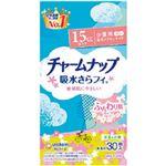 (まとめ)ユニ・チャーム チャームナップ吸水サラフィー ふんわり肌 少量用 1袋(30枚)【×10セット】