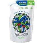 (まとめ)サラヤ ヤシノミ洗剤480mL 詰替 1本【×10セット】