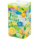 (まとめ)丸富製紙 トイレットペーパー フルーツバスケット消臭in レモン&ライムの香り ダブル 27.5m 1パック(12ロール)【×10セット】