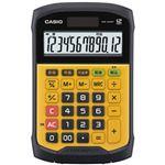 (まとめ)カシオ 防水防塵電卓  イエロー  1個 型番:WM-320MT-N【×2セット】