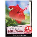 (まとめ)ラミーコーポレーション ラミネートフィルム A6 100枚 26004【×10セット】