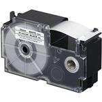 (まとめ)カシオ計算機 ネームランドテープ 強粘着はく離テープ 24mm 白に黒文字  1個 XR-24GCWE【×3セット】