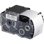 (まとめ)カシオ計算機 ネームランドテープ 強粘着はく離テープ 36mm 白に黒文字  1個 XR-36GCWE【×3セット】
