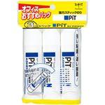 (まとめ)トンボ鉛筆 ピットハイパワー HCA-321 1パック(22g×3本)【×10セット】