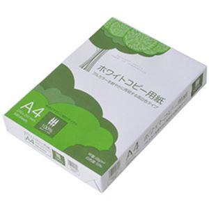 (まとめ)APP(コピー用紙)ホワイトコピー用紙 A4 1冊(500枚)【×10セット】