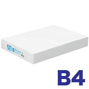 (まとめ)オフィスデポ オリジナル コピー用紙 ナチュラルホワイト B4 500枚 1冊【×5セット】