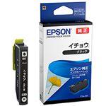 (まとめ)EPSON 純正インクカートリッジ ITH-BK イチョウブラック 1個【×5セット】