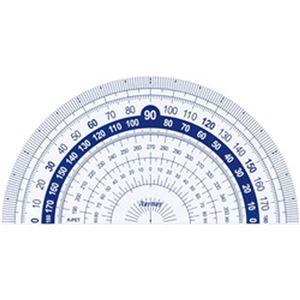 (まとめ)レイメイ藤井 はし0(ゼロ)メモリ分度器 1枚 APJ133【×50セット】