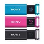 ソニー USBメモリ ポケットビットUシリーズ 16GB USM16GU-3C 3個パック