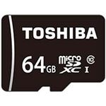 東芝  SDカード  64GB 1個 MSDAR40N64G