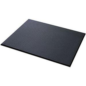 カーボーイ  足腰マット  穴なし Mサイズ ブラック 1枚 AM-02