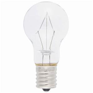 (まとめ)オーム電機 ミニクリプトン電球  100形クリア 1個 LB-PS4700KJ-C【×10セット】