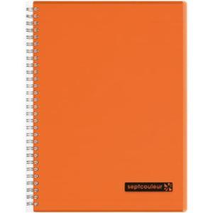 (まとめ)マルマン セプトクルール A罫 B5 オレンジ N571B-09 1冊(80枚)【×10セット】