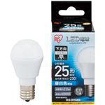 (まとめ)アイリスオーヤマ LED電球 E17 直下タイプ 25W形相当 昼白色 密閉型器具対応 LDA2N-H-E17-2T5 1個【×10セット】
