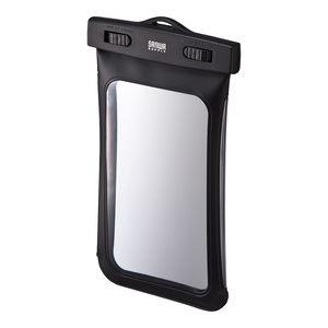サンワサプライ スマートフォン防水ケース PDA-SPCWP2BK
