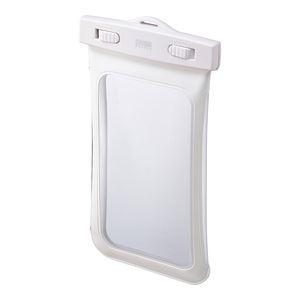 サンワサプライ スマートフォン防水ケース PDA-SPCWP2W