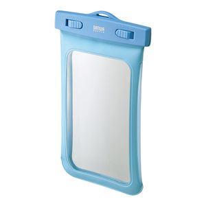サンワサプライ スマートフォン防水ケース PDA-SPCWP2BL