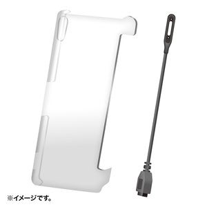 サンワサプライ クリアハードケース(XperiaZ2用) PDA-XP32CLSET