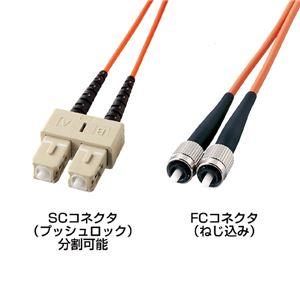 サンワサプライ 光ファイバケーブル(3m) HKB-CF5W-3