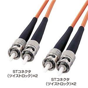 サンワサプライ 光ファイバケーブル(3m) HKB-TT5W-3