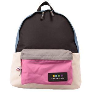 nano block(ナノブロック) daypack crazy col デイパック NB001Z ピンク - 拡大画像