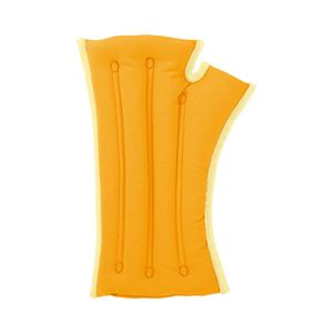musshu(ムッシュ) 手首枕 サクラ咲く手首まくら(両手用) オレンジ Lサイズ - 拡大画像