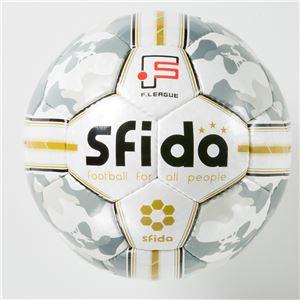 SFIDA(スフィーダ) フットサルボール Fリーグ公式試合球 INFINITO ホワイト BSFIN01 - 拡大画像