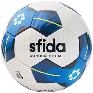 SFIDA(スフィーダ) サッカーボール ジュニア用4号球 VAIS JR ホワイト×ブルー BSFVA03 - 拡大画像