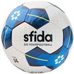 SFIDA(スフィーダ) サッカーボール ジュニア用4号球 VAIS JR ホワイト×ブルー BSFVA03