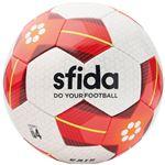 SFIDA(スフィーダ) サッカーボール ジュニア用4号球 VAIS JR ホワイト×レッド BSFVA03の画像