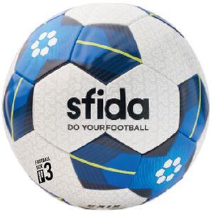 SFIDA(スフィーダ) サッカーボール キッズ用3号球 VAIS KIDS ホワイト×ブルー BSFVA04 - 拡大画像
