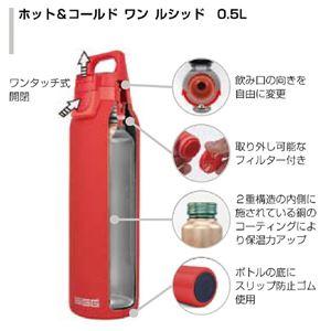 SIGG ステンレス製ボトル ホット&コールド ワン ルシッド(グレーシャ 0.5L)